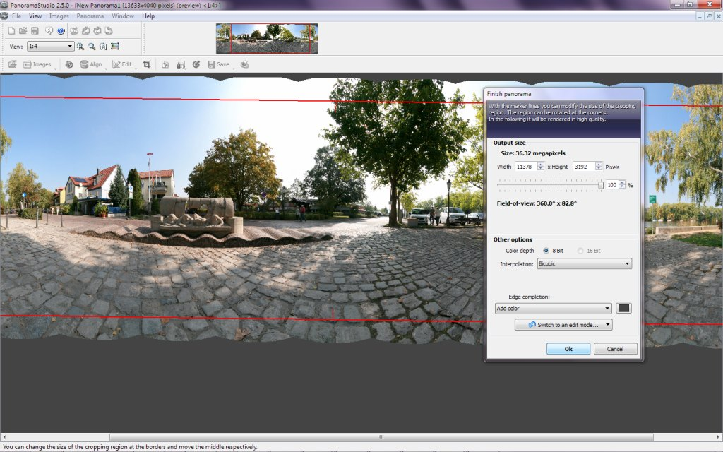 PanoramaStudio Screen shot